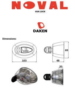 Noval lock set 2 Slamlock